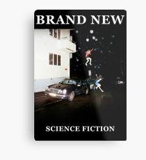 Brand New - Science Fiction Metal Print