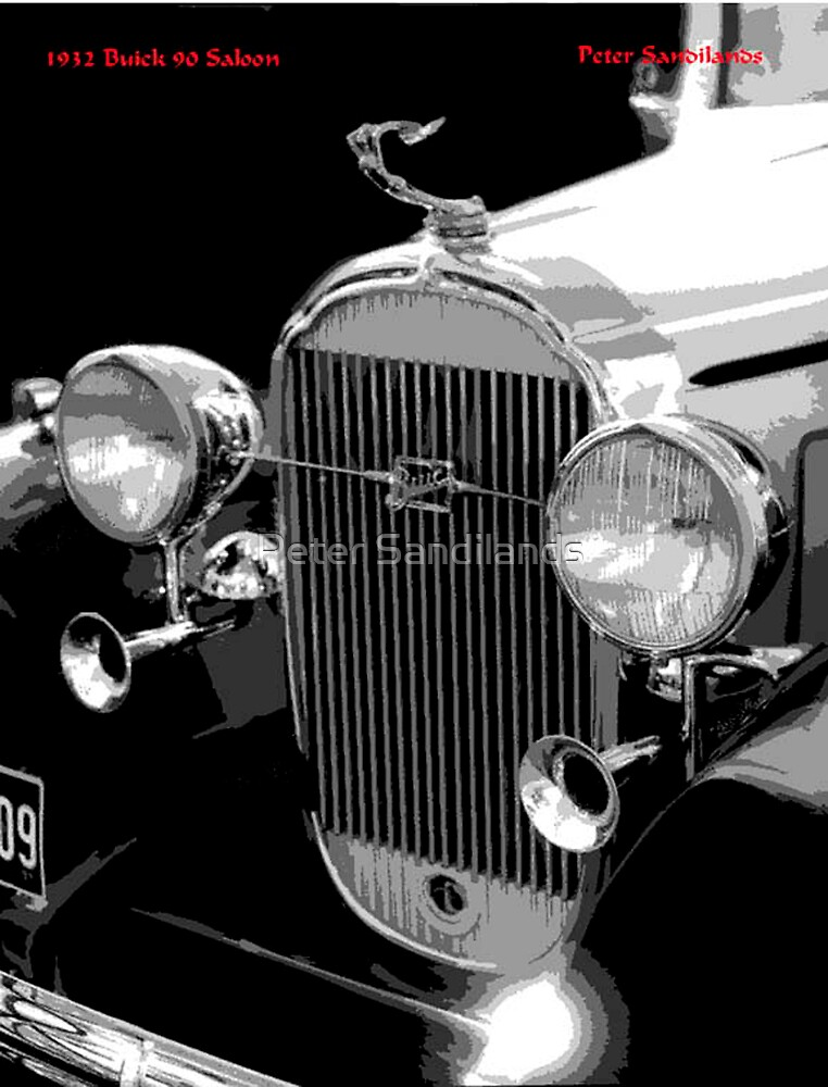 1932 Buick Saloon by Peter Sandilands