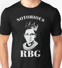 notorious rbg t shirts redbubble