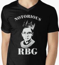 Notorious RBG Shirt  Men's V-Neck T-Shirt