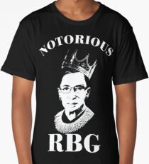 Notorious RBG Shirt  Long T-Shirt