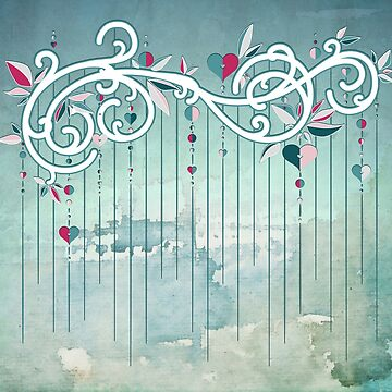Heart Candy Raincloud by BIcicle