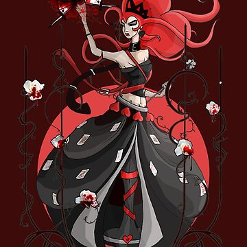 Queen of Hearts: Painting the Roses Red by BIcicle
