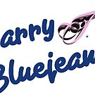 Barry J. Bluejeans Label by blestorious