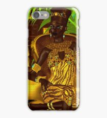 Black Egyptian princess iPhone Case/Skin