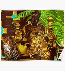 Black Egyptian princess Poster