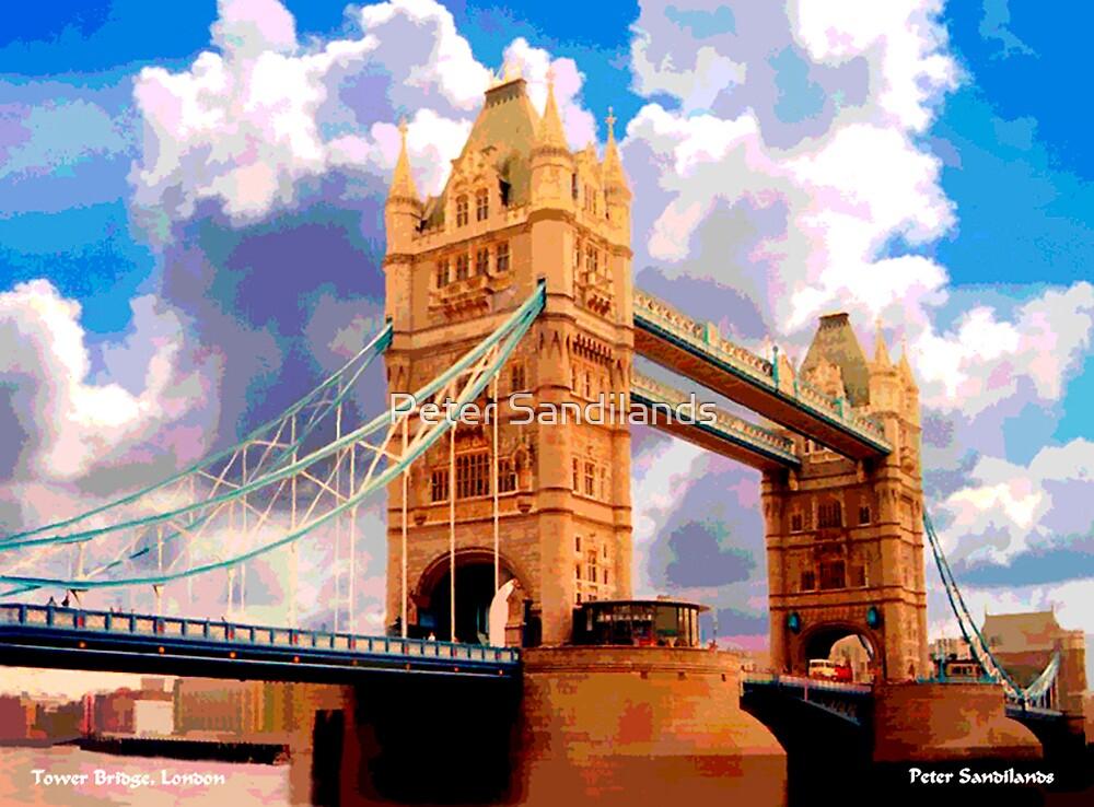 Tower Bridge, London. by Peter Sandilands