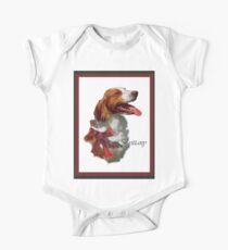 American Brittany Spaniel Christmas Gifts One Piece - Short Sleeve