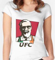 UFC MCGREGOR Women's Fitted Scoop T-Shirt