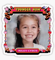 Younger Now Miley Cyrus - Music Tshirt Sticker