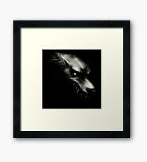 Game Thrones Wolf Stark 1 Framed Print