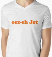 Kasabian - eez-eh Jet (Orange Text)  T-Shirt