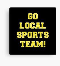 Go Sports! Canvas Print