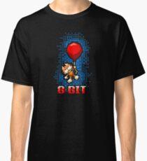 8 bit Kitten Carried Away Classic T-Shirt
