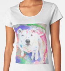 Come and paint the world with me tonight. Women's Premium T-Shirt