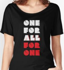 "My Hero Academia® - ""One For All VS All For One"" T-Shirt & Memorabilia Women's Relaxed Fit T-Shirt"