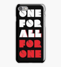 "My Hero Academia® - ""One For All VS All For One"" T-Shirt & Memorabilia iPhone Case/Skin"