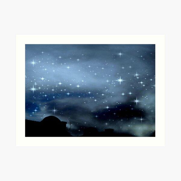 Clear Starry Night © Art Print