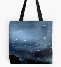 Clear Starry Night © Tote Bag