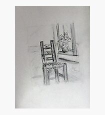 Vincent's Chair Photographic Print