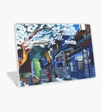 Under the Cherry Blossoms, Spring Laptop Skin