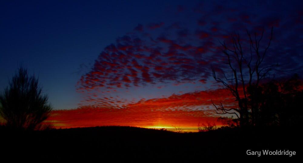 Sunrise near Mt Cook by Gary Wooldridge