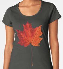 Autumn Maple Leaf Women's Premium T-Shirt
