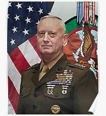 General James Mattis  Poster