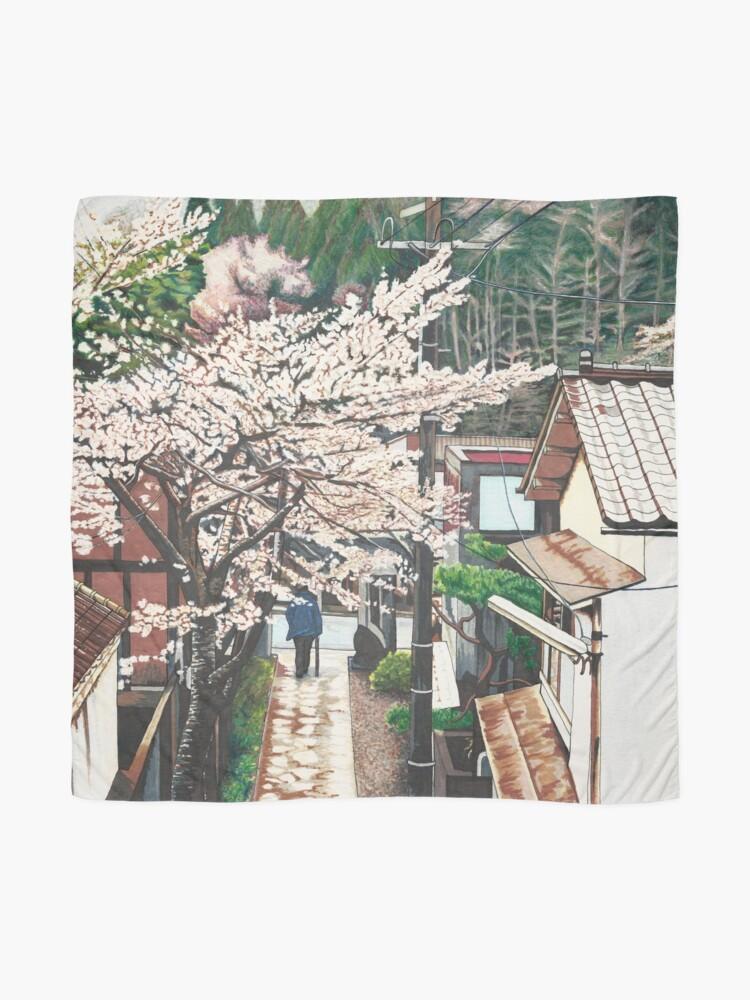 Vista alternativa de Pañuelo Pasando por Cherry Blossoms