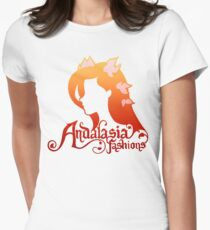 Andalasia Fashions Women's Fitted T-Shirt
