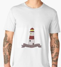How Many Steps to the Lighthouse? Men's Premium T-Shirt