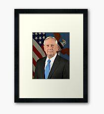 James Mattis Framed Print