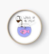 Reloj ¡Despierta Mr. Fish!