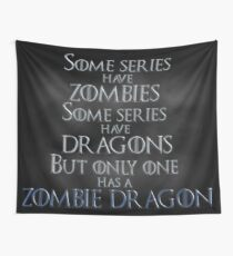 Game of Thrones Zombie Dragon Wall Tapestry