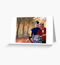 Let me get that for you... Greeting Card