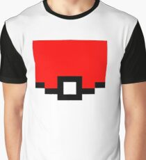 Pokeball Pixel Design - Many Items Available Graphic T-Shirt