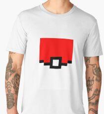 Pokeball Pixel Design - Many Items Available Men's Premium T-Shirt