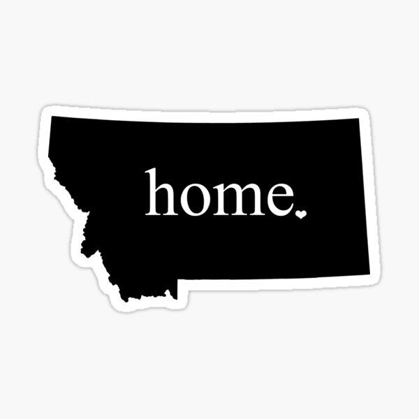 Montana Home Sticker