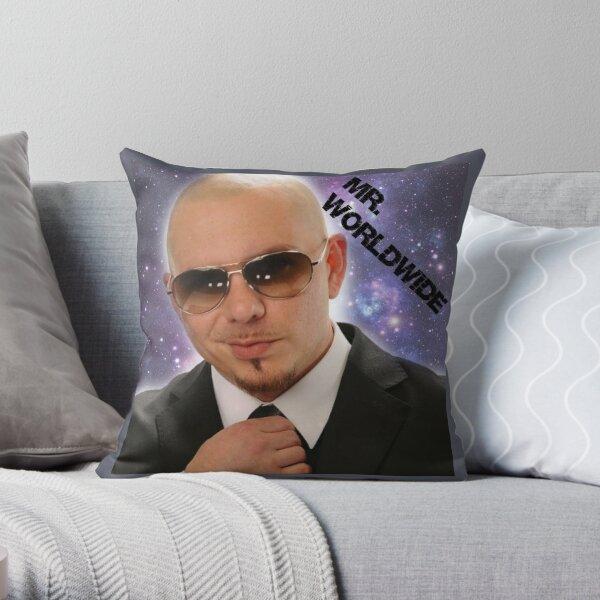 Mr.Worldwide /Pitbull/ Throw Pillow
