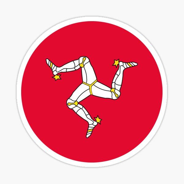 Isle of Mann, Ellan Vannin, Isle of Man Sticker