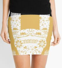 Scary Folk Rabbit Mini Skirt