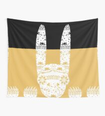 Scary Folk Rabbit Wall Tapestry