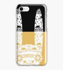 Scary Folk Rabbit iPhone Case/Skin
