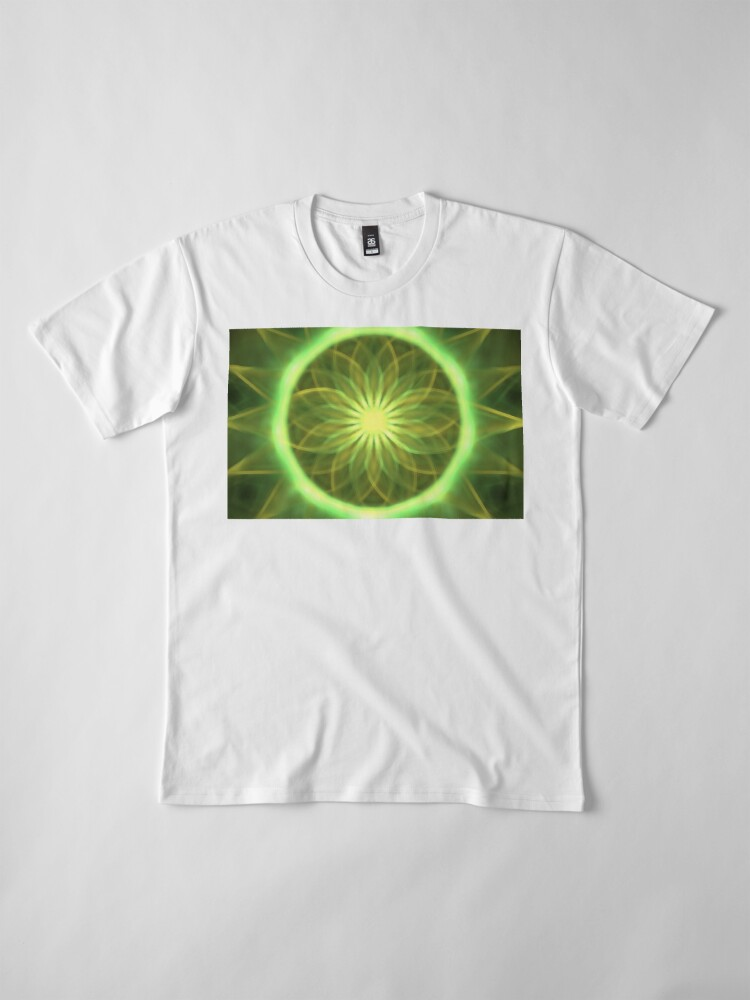 Alternative Ansicht von Chrysantheme Premium T-Shirt