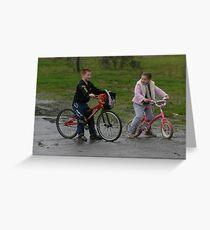 Bikies Greeting Card