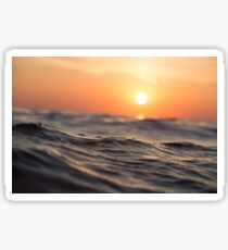 Sunrise Ocean Sticker