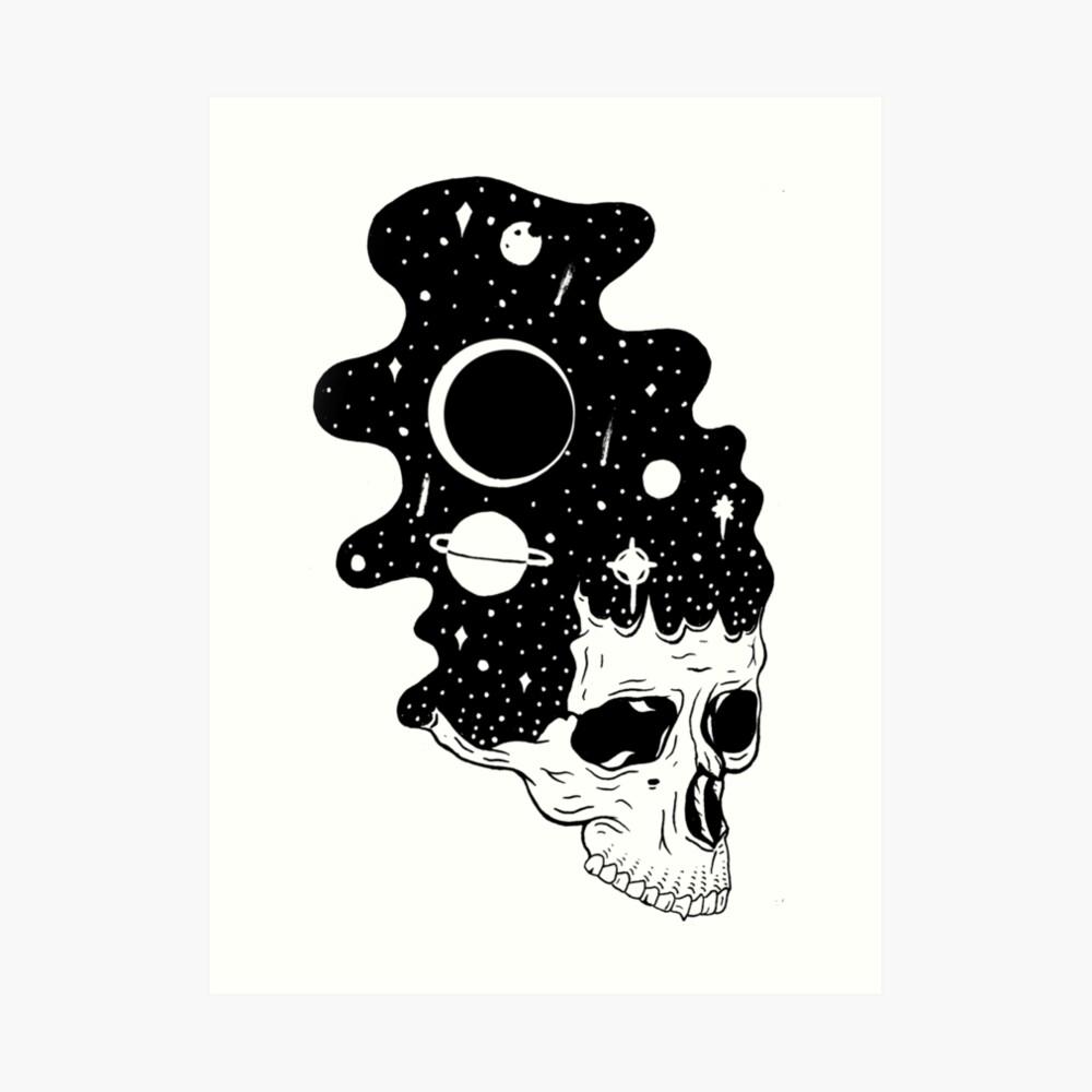 Raumgehirne Kunstdruck