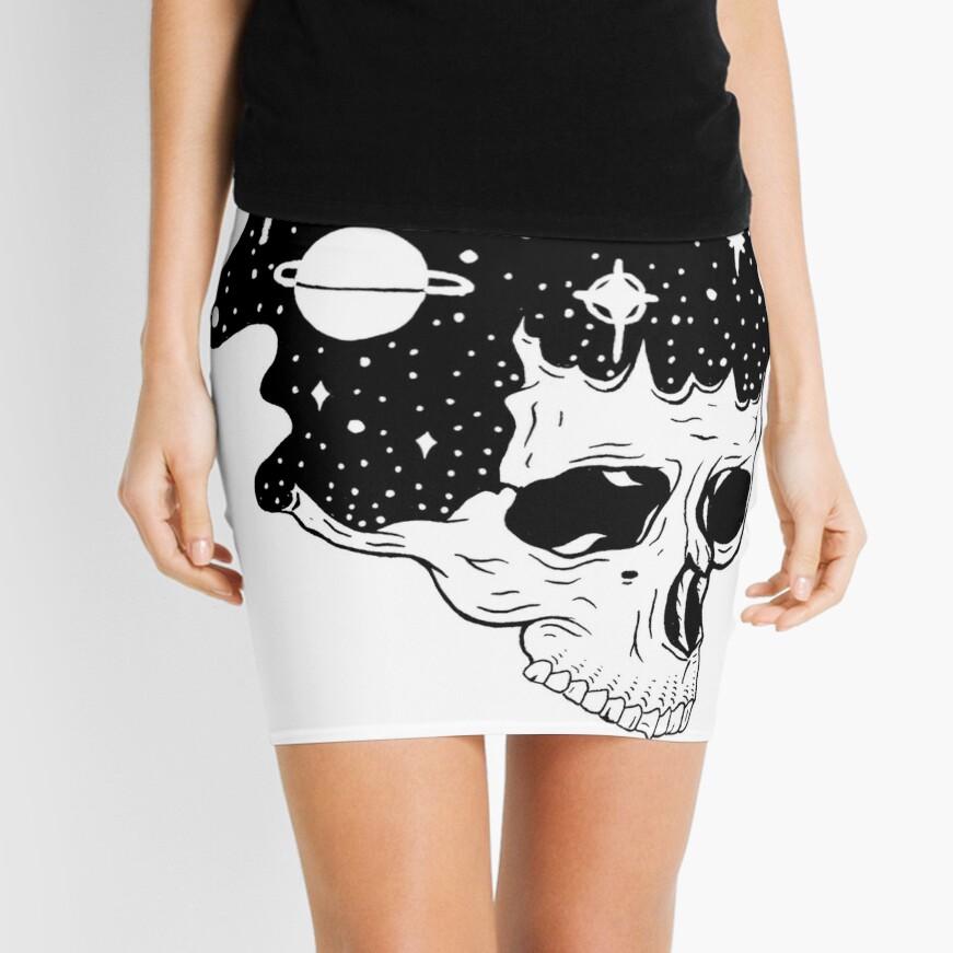 Space Brains Mini Skirt