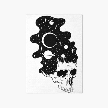 Space Brains Art Board Print