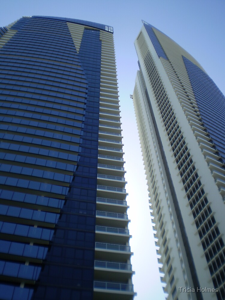Twin towers, Surfers Paradise, QLD by Tricia Holmes